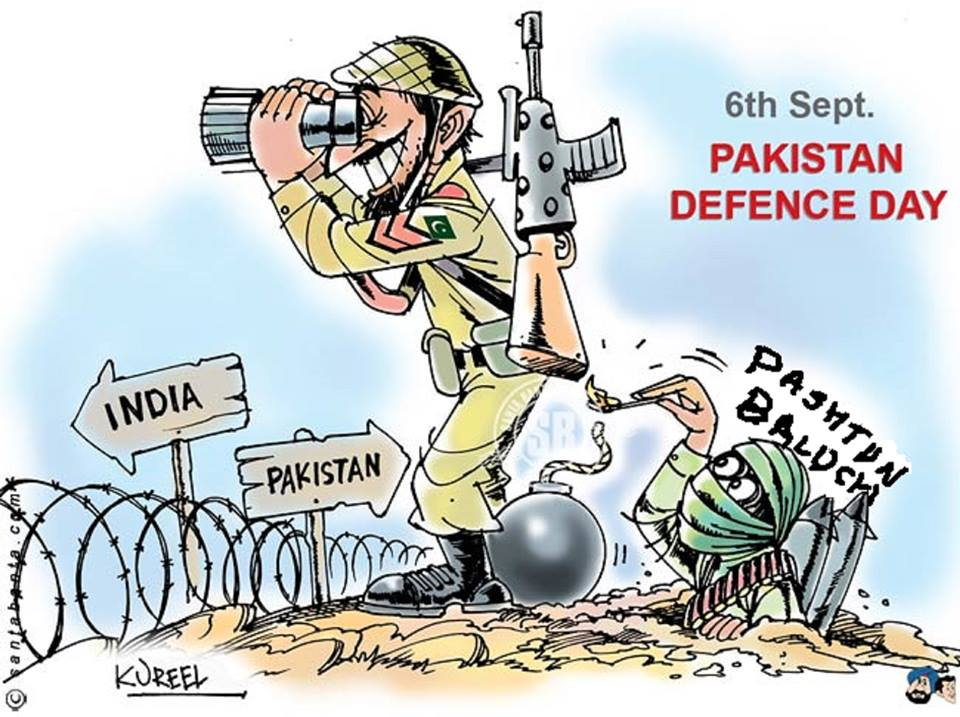 The strategic depth of Pakistan is a strong Afghanistan.